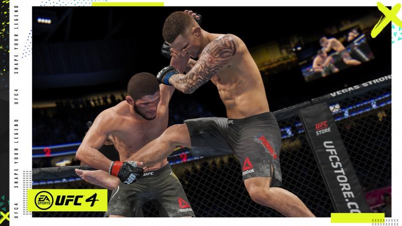 EA Sports UFC 4如何演變特許經營權7