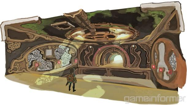 關於塞爾達傳說的一切我們所知道的:狂野地下城的呼吸1