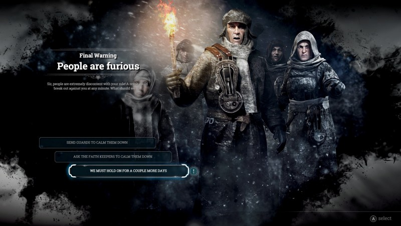 您需要了解的關於Frostpunk控制台版本的所有信息1